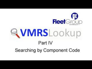 VMRS Lookup Part IV - Searching by Code Key 33 Component Code